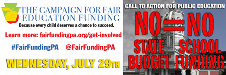 Twitter pic campaign for fair funding
