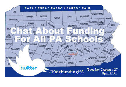 pa school funding twitter chat