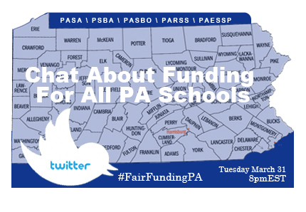 pa school funding twitter chat
